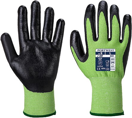 Green Cut 5 Glove