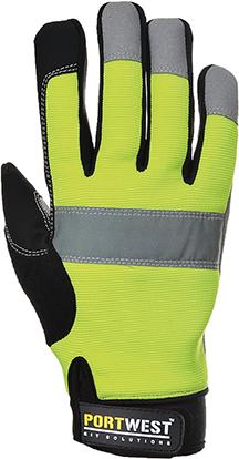 Hi-Vis Tradesman Glove