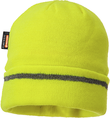 Knitted Hat Reflective Trim