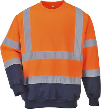 Hi-Vis 2-Tone Sweatshirt