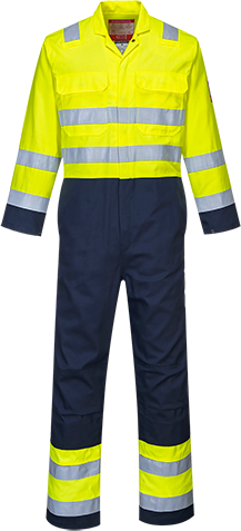 BizFlame Pro Hi-Vis Coverall