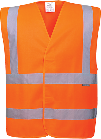 Hi-Vis Two Band & Brace Vest