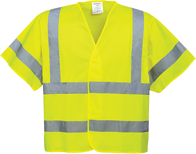 Hi-Vis Short Sleeve Vest