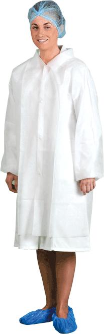 PP Visitor Coat (200pcs)