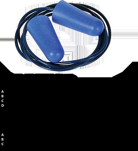 Food Detectable Ear Plug (200)