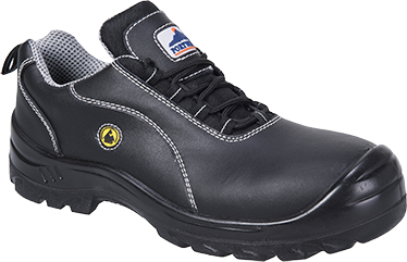 ESD Leather Safety Shoe