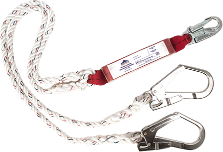 Double Lanyard Shock Absorbing