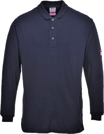 Flame Resistant Anti Static Polo Shirt