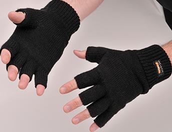 Knit Glove Fingerless