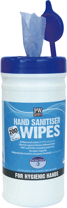 Hand Sanitiser Wipes 200