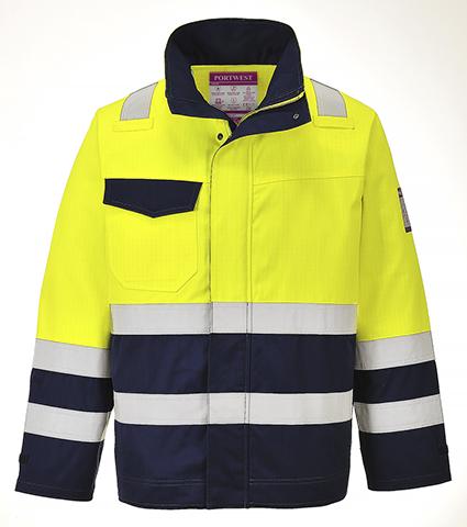 Flame Resistant Anti Static Hi-Vis Jacket