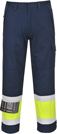 Flame Resistant Anti Static Hi Vis Trousers