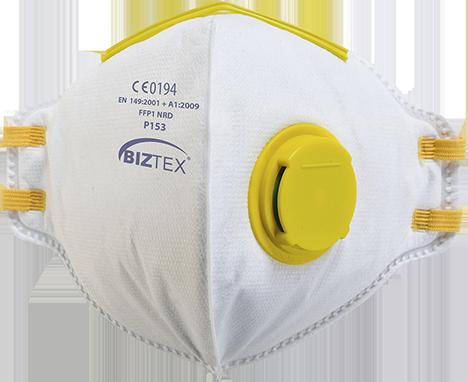 FFP1 Valved Respirator Pk20