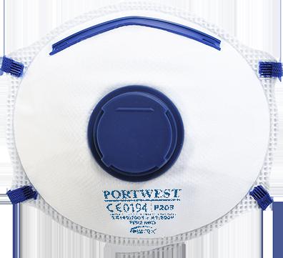 FFP2 Valved Respirator (Pk10)