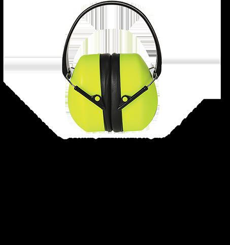 Super Hi-Vis Ear Protector