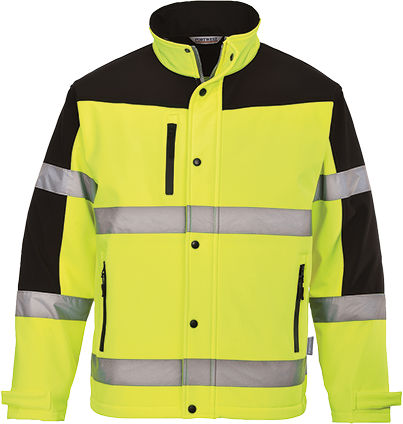 Hi-Vis Two-Tone Softshell
