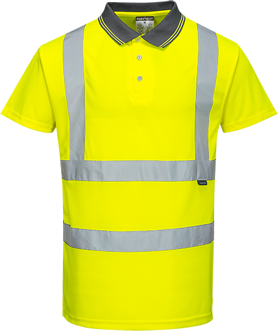 Hi-Vis S/S Polo Shirt