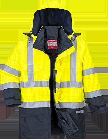 Hi-Vis Multi Protection Jacket