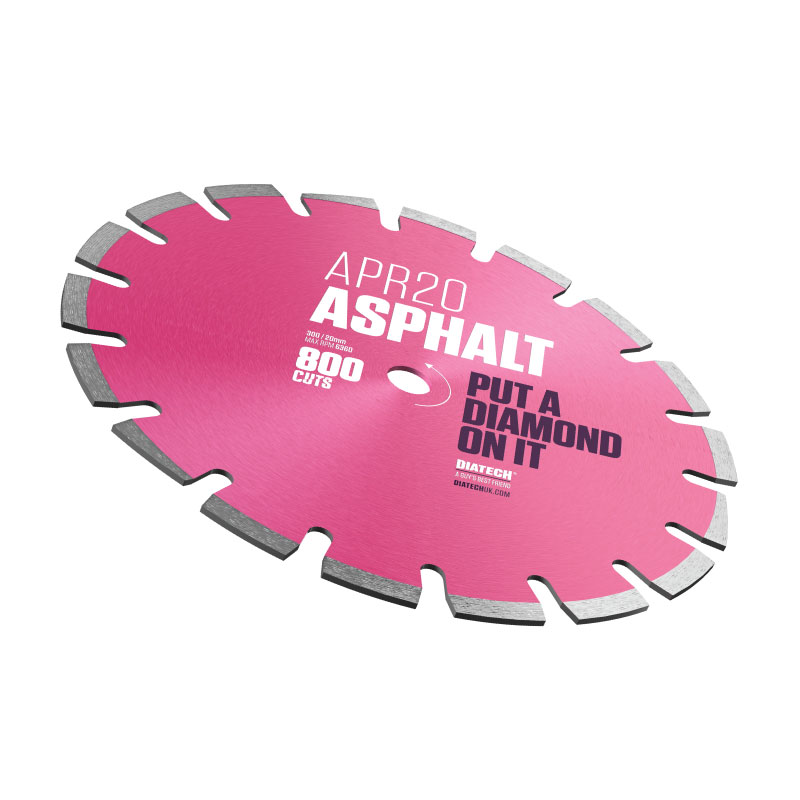 APR20 ASPHALT DIAMOND BLADE 300/20