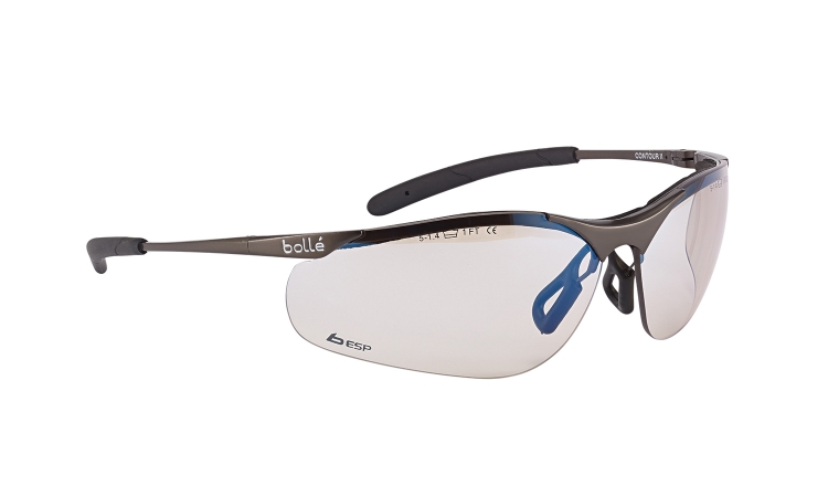 Bolle Contour Metal CONTMESP Safety Glasses