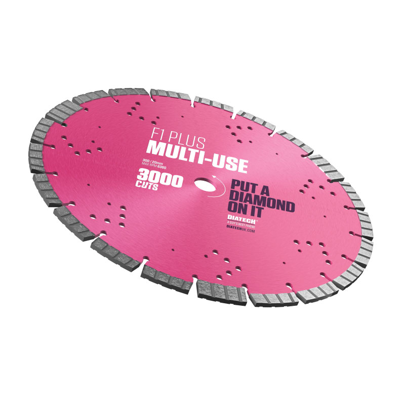 F1 PLUS MULTI-USE DIAMOND BLADE 300/20