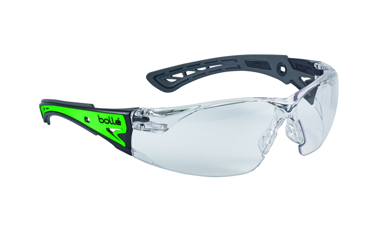 Bolle Rush+ Glow RUSHPGLO Safety Glasses