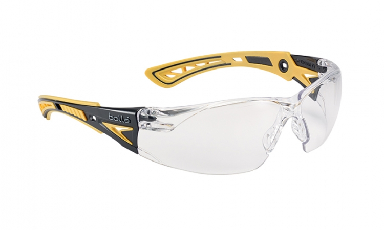 Bolle Rush+ RUSHPPSIY Safety Glasses