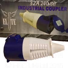 Elite 32amp 110volt IEC60306 Coupler