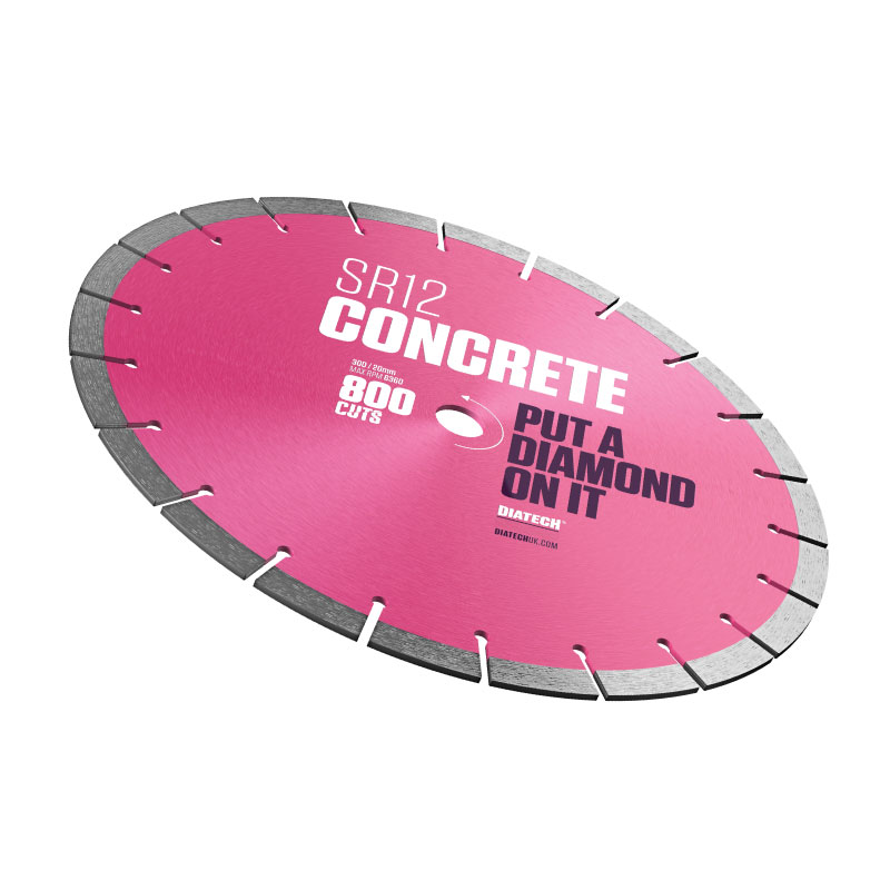 SR12 CONCRETE DIAMOND BLADE 115/22