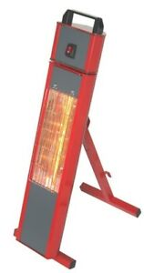 Elite 1.5kw 240v Quartz Infra Red Heater 13amp