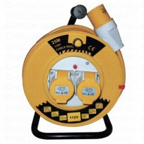 Elite 25m x 110 Volt Extension Reel
